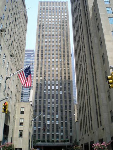 75 Rockefeller Plaza- Wallace Harrison