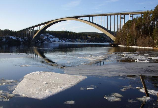 Sandö Bridge- Eugène Freyssinet