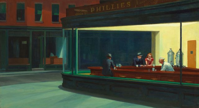 Nighthawks- Edward Hopper