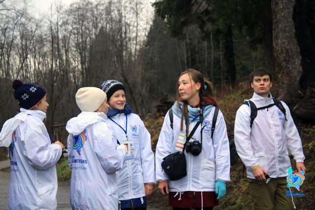 Волонтеры ВятГУ помогли провести кубок Кировской области по спортивному ориентированию
