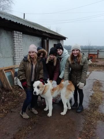 Посещение питомника студентами ВятГУ