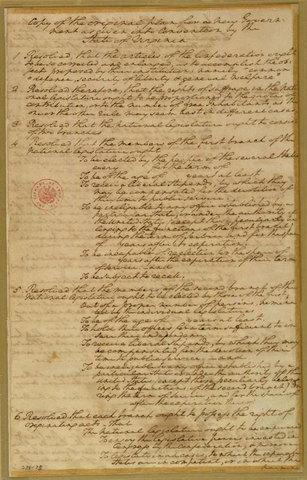 Virginia Plan | Constitutional convention