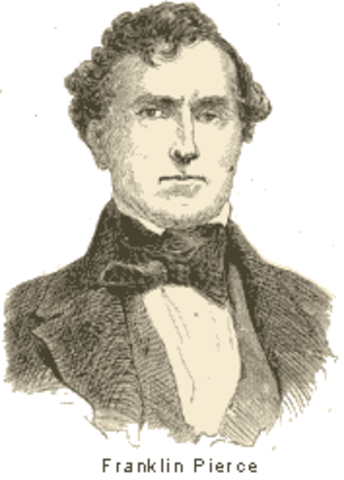 Election of 1852- Franklin Pierce