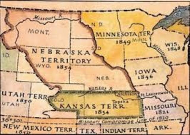 The Kansas and Nebraska act