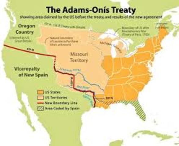 Adamis-Onis Treaty