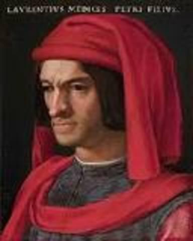 Birth of Lorenzo de Medici