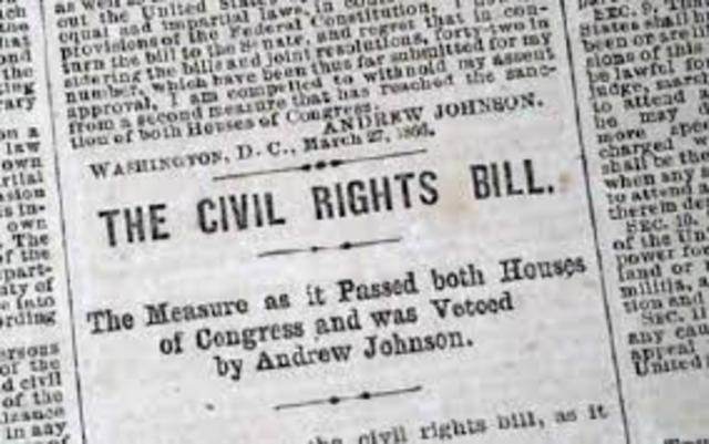 Phase 2 Civil Rights Bill of 1866