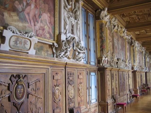 Rosso Fiorentino, Primaticcio: Galleria di Francesco I a Fontainebleau, 1532-39