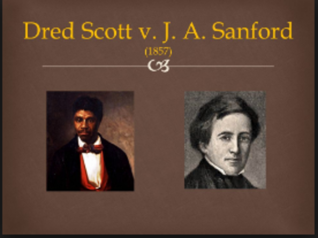 Dred vs. Sandford
