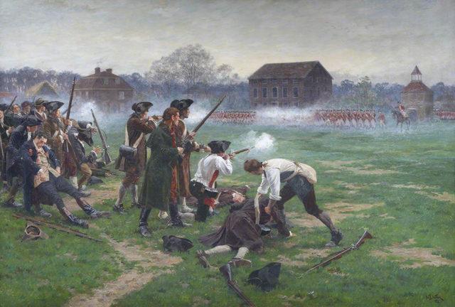 The Battle of Lexington & Concord