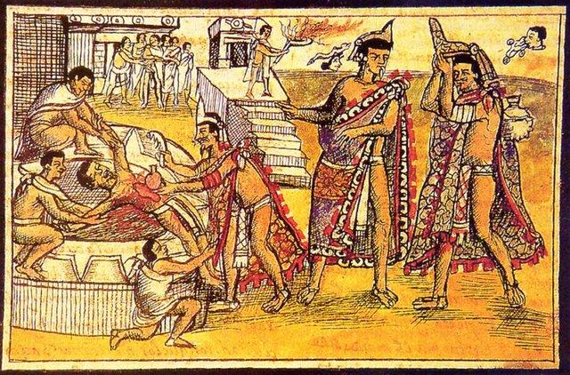 Mesoamerica: Maya (Human Sacrifice)