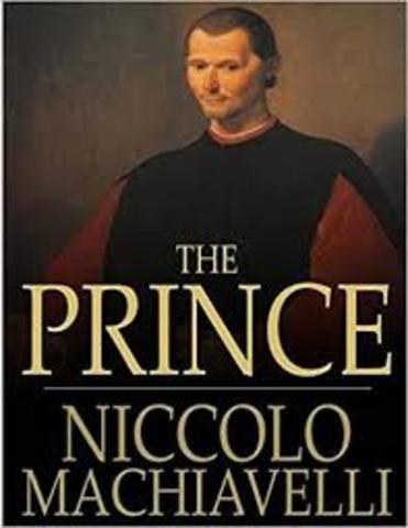 Machiavelli writes The Prince