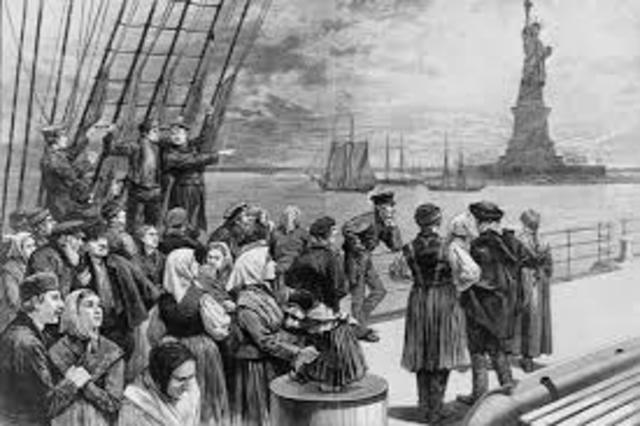 Industrialization- Immigration