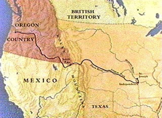Great Migration, Oregon Trail