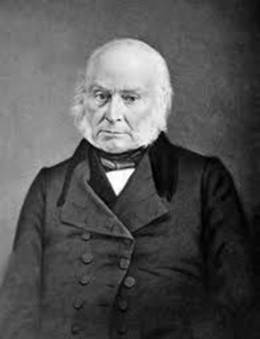 Presidency of John Q. Adams.