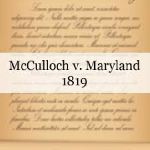McCulloch vs Maryland