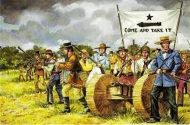 The Battle Gonzalez