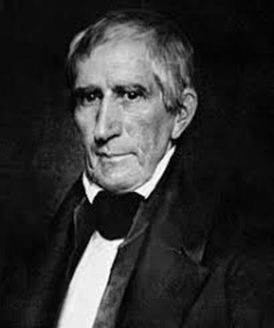 William Henry Harrison death