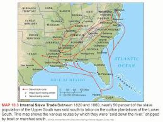 Slavery in Upper & Lower South