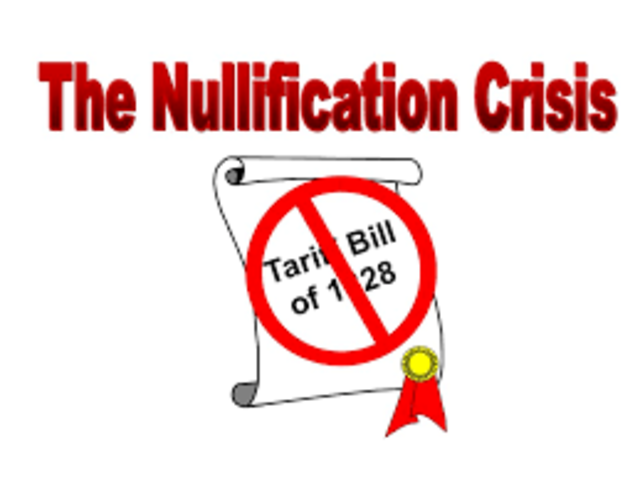 Nullifiication Crisis