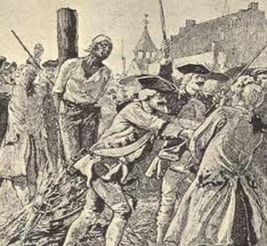 Rebellion of indentured servants
