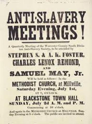 Anti slavery movement