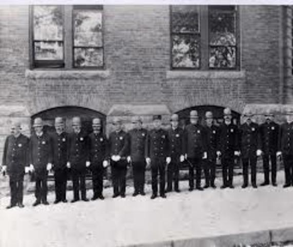 First Police Forces