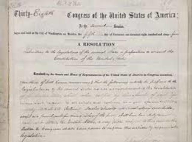 13th, 14th, & 15th Amendment
