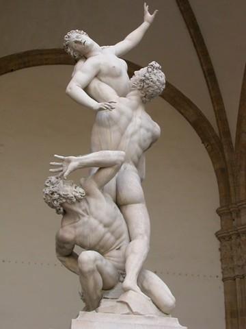 Giambologna, Ratto delle Sabine, 1574-1580