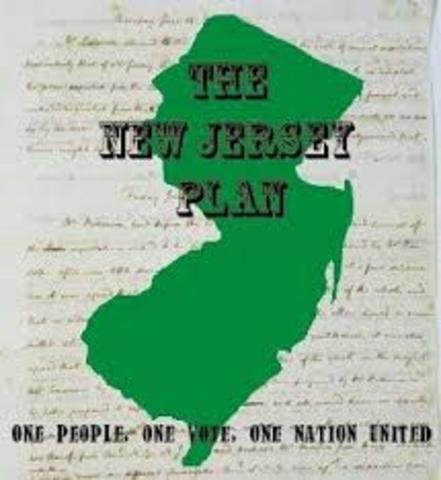 Constitutional Convention: New Jersey Plan