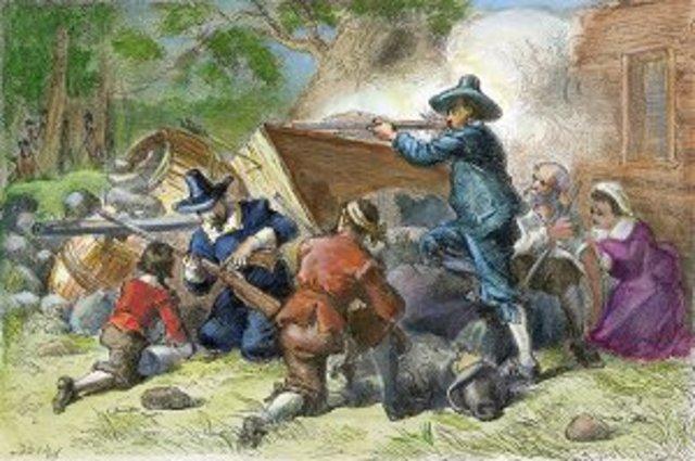 Rebellion of Indentured Servants/Bacon's Rebellion