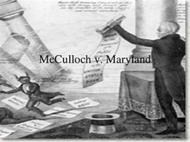 McCulloch Vs. Maryland