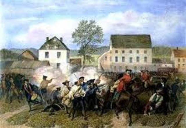 battle at lexington
