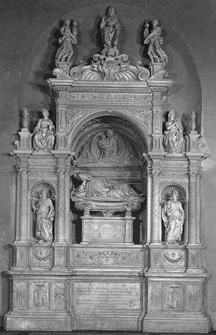 Andrea Sansovino, Tomba di Ascanio Sforza, 1505,SMdel Popolo, Presbiterio