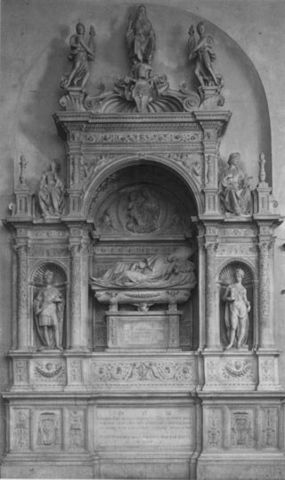 Andrea Sansovino, Tomba di Girolamo Basso, 1505,SMdel Popolo, Presbiterio