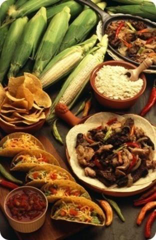 Fusión comida indigena y española