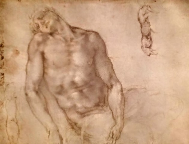 Michelangelo, Cristo morto, Louvre