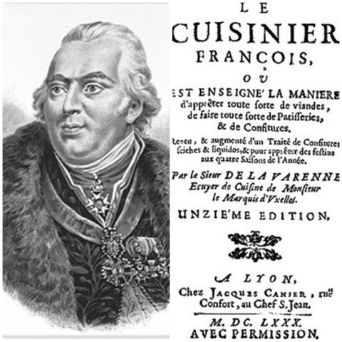 El  cocinero  francés  que  prepara  carnes  grasas  y  magras,  legumbres, pasteles y otros platillos, para las mesas de los grandes señores