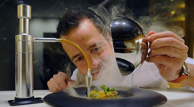 Cocinar con nitrogeno liquido