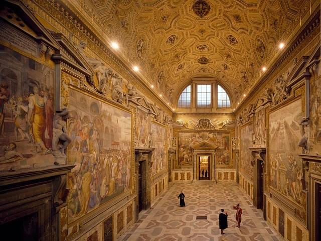 Perin del Vaga et al, Sala Regia, Palazzo Apostolico, 1540-1573