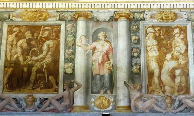 Perin del Vaga et al, Sala Paolina, 1545-47