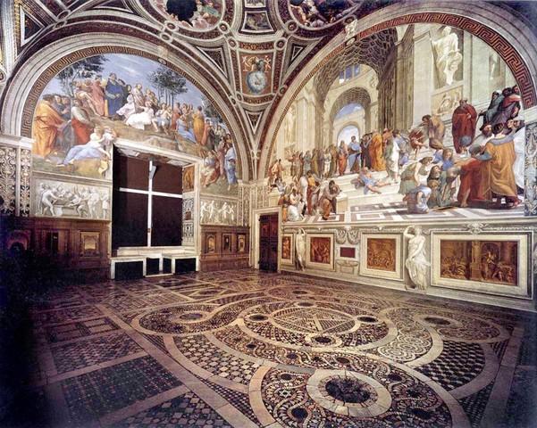 Raffaello, Stanza della Segnatura, 1508-11