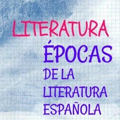 Épocas de la literatura castellana timeline
