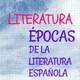 Épocas literatura española