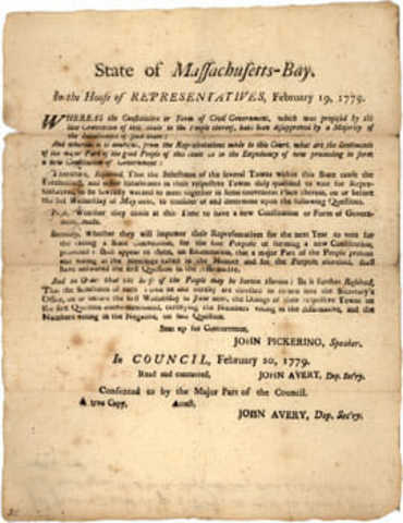 Massachusetts constitution