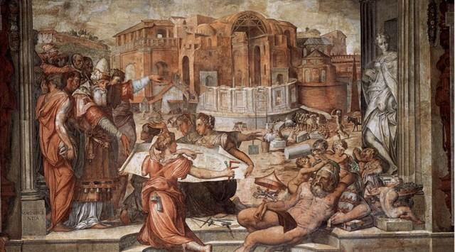 Vasari, Sala dei cento giorni 3, Palazzo della Cancelleria