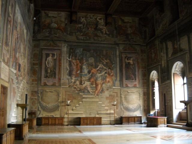 Sala dei cento giorni,Anton Francesco Doni a Lelio Torelli, 1547