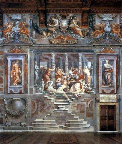 Vasari, Sala dei cento giorni 4, Palazzo della Cancelleria
