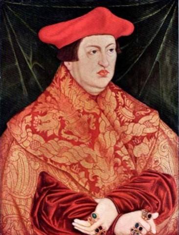 Lucas Cranach il vecchio, cardinal Johann Albrecht di Brandeburgo, 1526