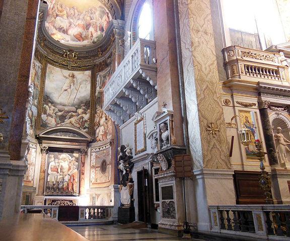 Salviati, 1 cappella dei Margravi di Brandeburgo in Santa Maria dell'Anima